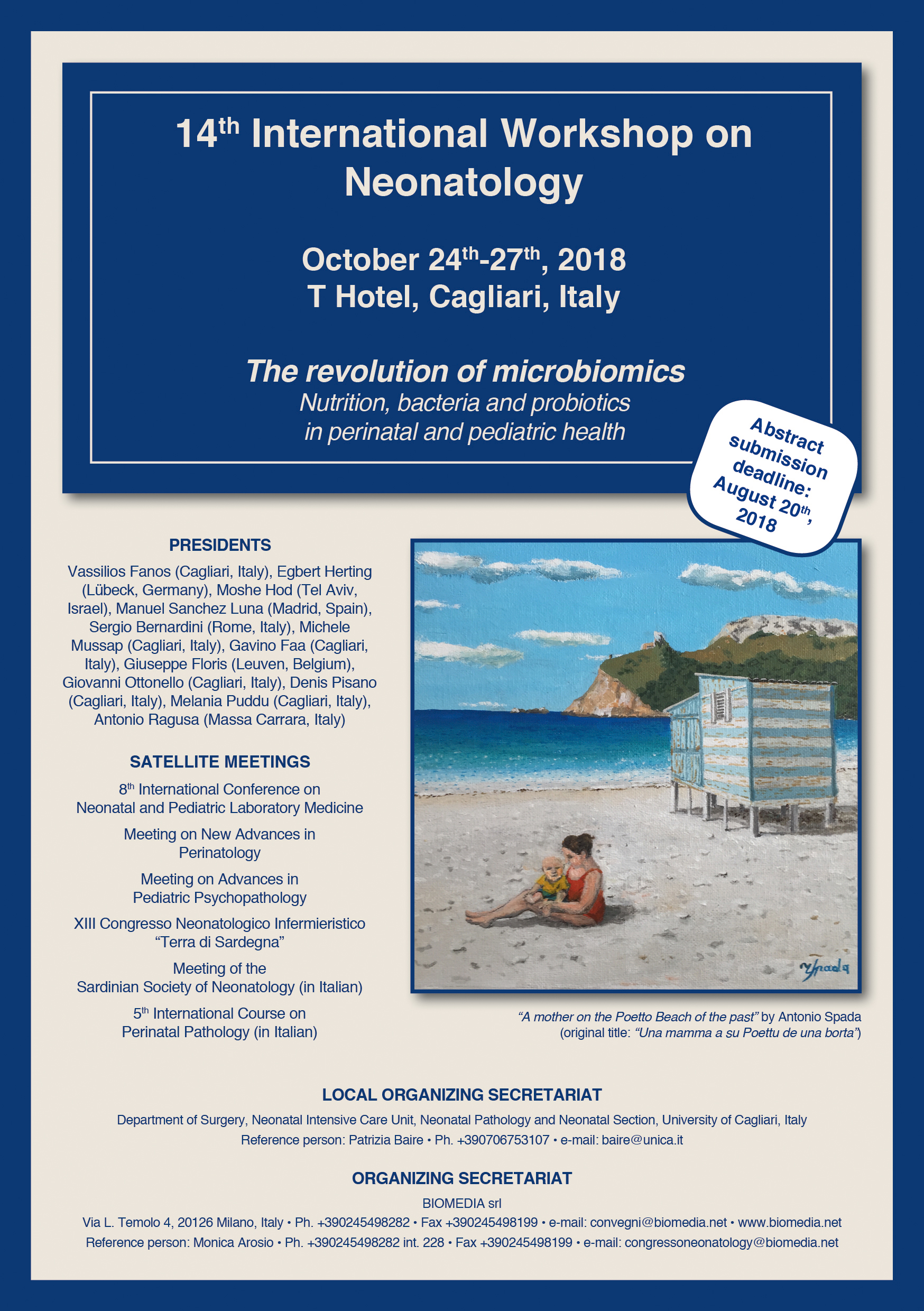 14th International Workshop on Neonatology