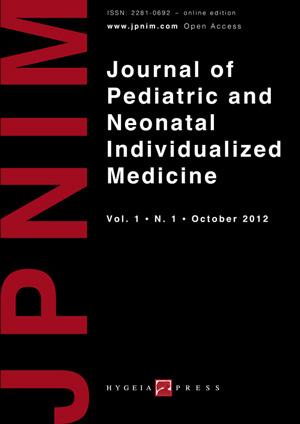 JPNIM Vol. 1 N. 1 - Cover