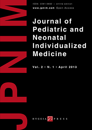 JPNIM Vol. 2 N. 1 - Cover