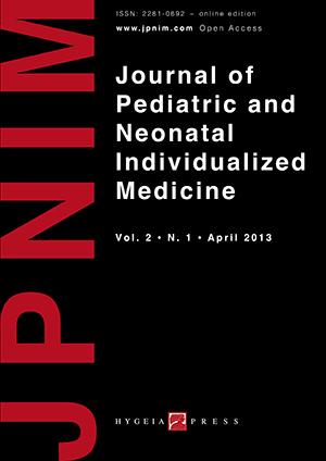 JPNIM Vol. 2 N. 1 - Cover