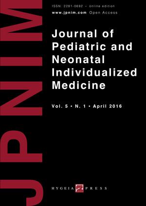 JPNIM Vol. 5 N. 1 - Cover